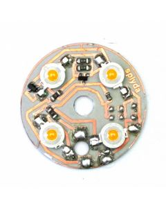 4W 40mm white Indicator and white sidelight with bayonet -536-