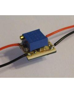 Miniature Temperature Warning  Light Module (for resistive senders)
