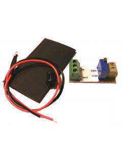 Miniature Temperature Warning  Light Module with Screw Terminals (for resistive senders)