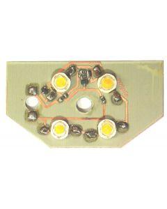 4W 65 x 35mm reverse light bare board -437-